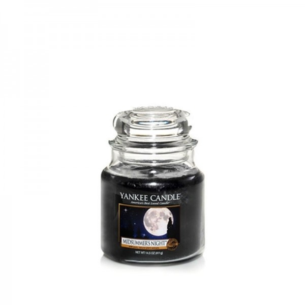 Yankee Candle Duftkerze «Midsummers Night» klein (small Jar 104g)