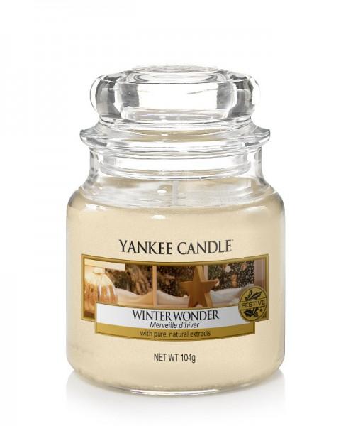 Yankee Candle Duftkerze «Winter Wonder» klein (small Jar 104g)