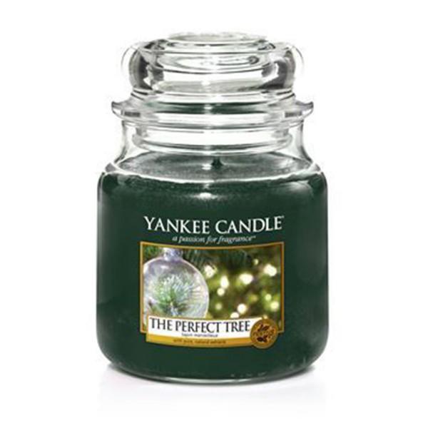 Yankee Candle Duftkerze «The Perfect Tree» mittel (medium Jar 411g)