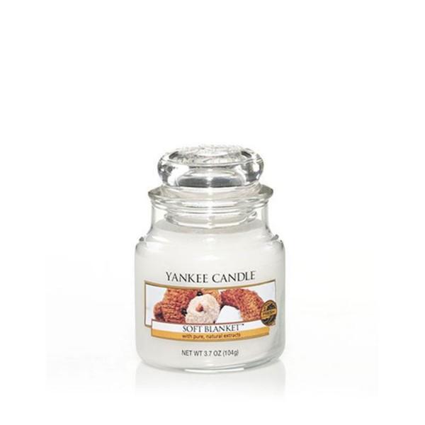 Yankee Candle Duftkerze «Soft Blanket» klein (small Jar 104g)
