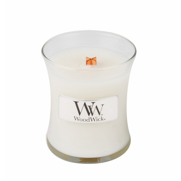 Woodwick «Linge propre» Bougie Parfumée mini