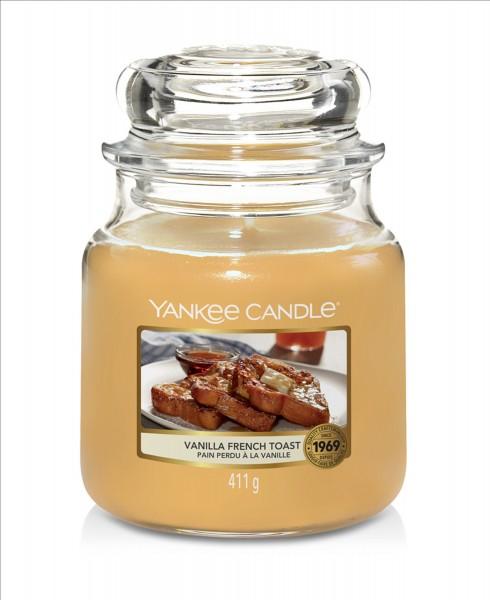 Yankee Candle Duftkerze «Vanilla French Toast» mittel