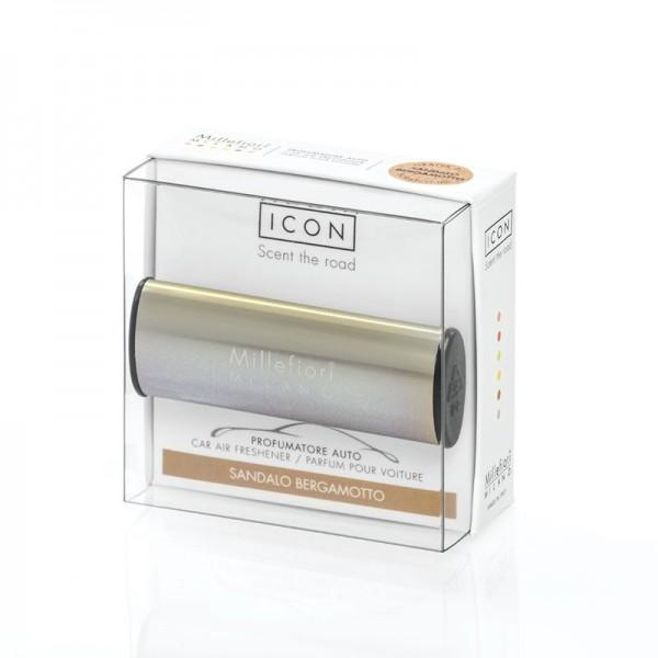 Millefiori Autoduft ICON Metallo «Sandalo Bergamotto» Bronze glänzend