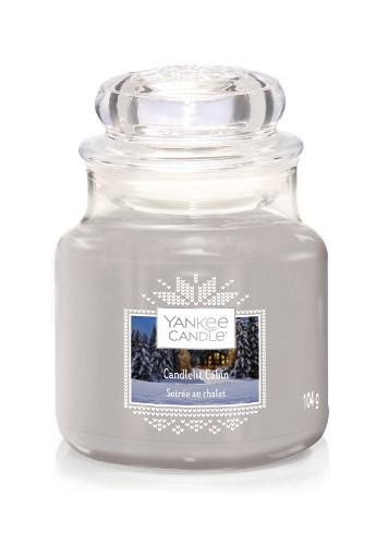 Yankee Candle «Soirée au chalet» Bougie Parfumée petite