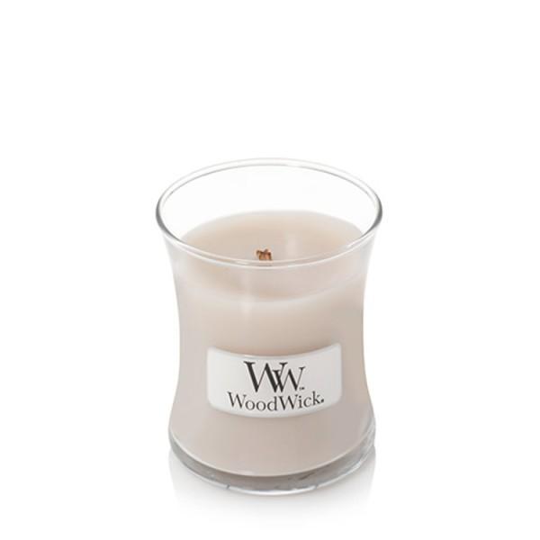 WoodWick Duftkerze «Smoked Jasmine» mini