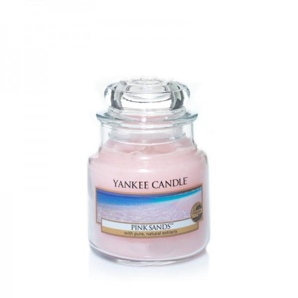Yankee Candle Duftkerze «Pink Sands» mittel (medium Jar 411g)