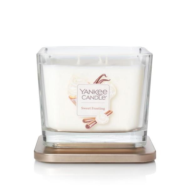 Yankee Candle Duftkerze Elevation  «Sweet Frosting» mittel (medium 347g)