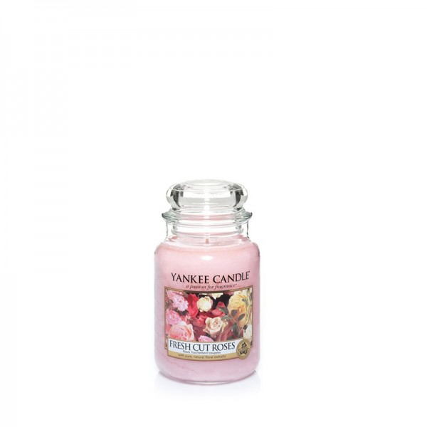 Yankee Candle Duftkerze «Fresh Cut Roses» klein (small Jar 104g)