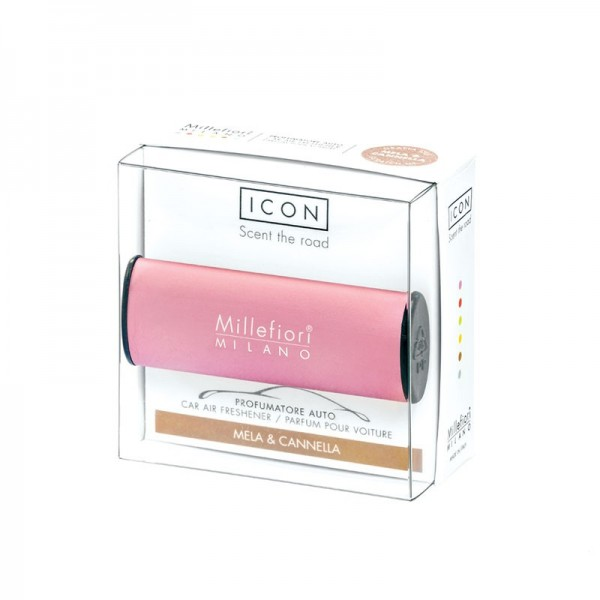 Millefiori Autoduft ICON Classic «Mela & Cannella» Pink