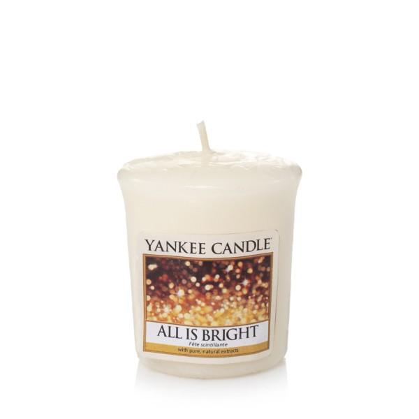 Yankee Candle Duftkerze «All is Bright» Votivkerze