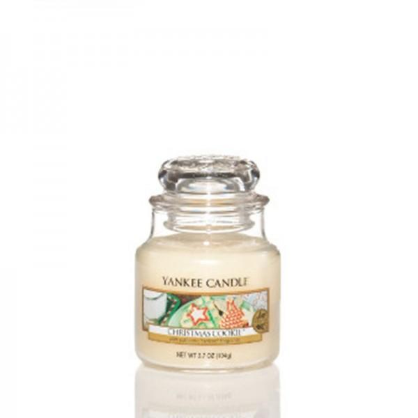 Yankee Candle «Cookie de Noël™» Bougie Parfumée Petite Jarre (small Jar 104g)