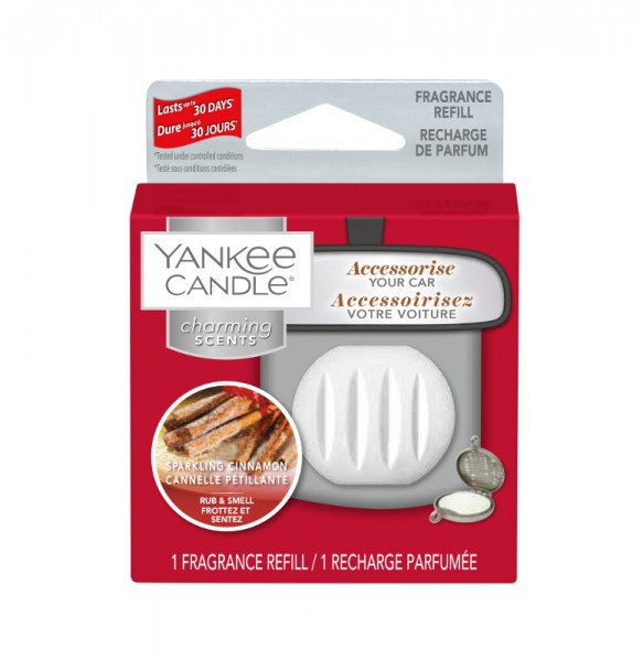 Yankee Candle Autoduft «Sparkling Cinnamon» Charming Scents, Refill