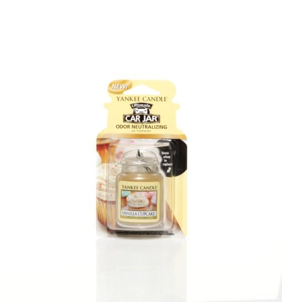 Yankee Candle Car Jar Ultimate «Gâteau à la vanille» Parfum pour voiture