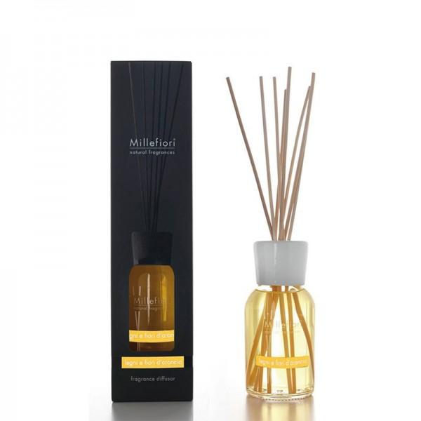 Millefiori Natural «Legni e Fiori d'Arancio» Parfum d'ambiance 250ml