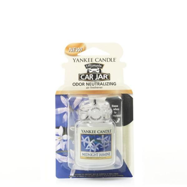 Yankee Candle Car Jar Ultimate «Jasmin à minuit» Parfum pour voiture