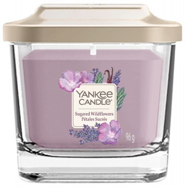 Yankee Candle Duftkerze Elevation «Sugared Wildflowers» klein