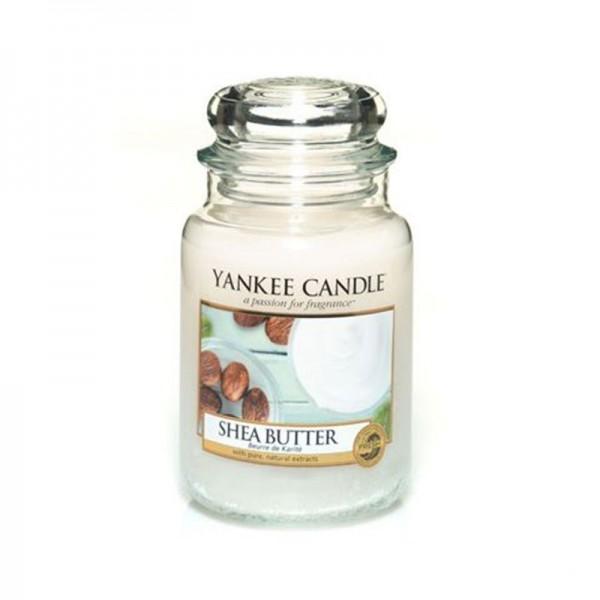 Yankee Candle Duftkerze «Shea Butter» gross (large Jar 623g)