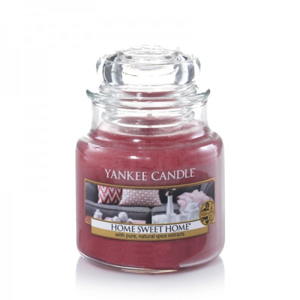 Yankee Candle Duftkerze «Home Sweet Home» mittel (medium Jar 411g)