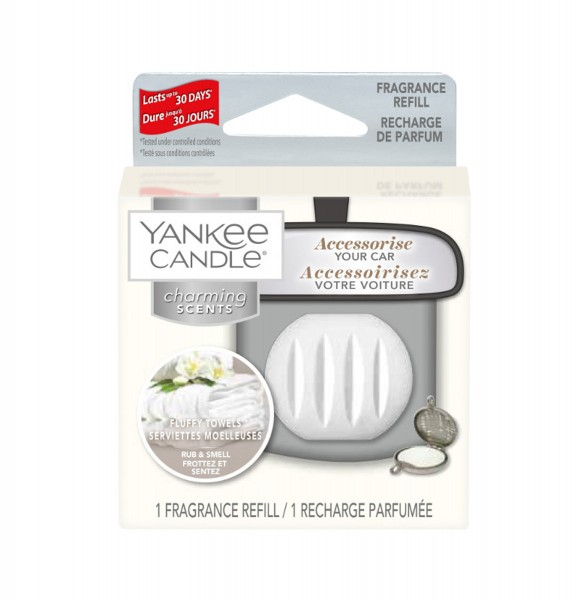 Yankee Candle Autoduft «Fluffy Towels» Charming Scents, Refill