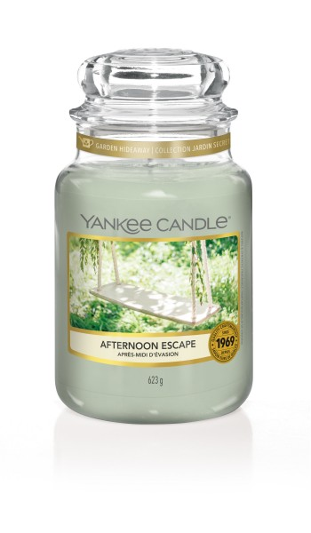 Yankee Candle Duftkerze «Afternoon Escape» gross