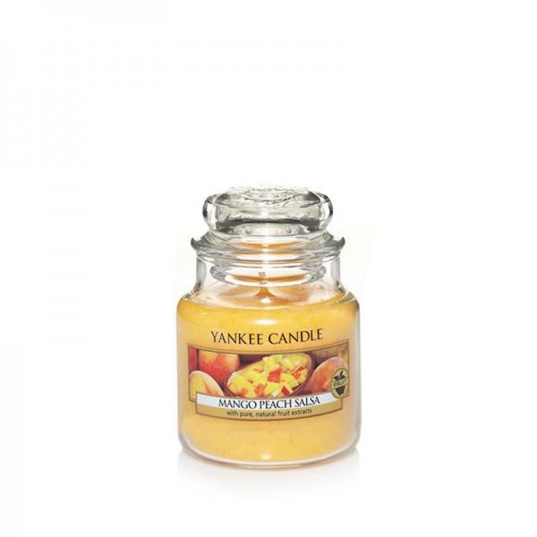 Yankee Candle Duftkerze «Mango Peach Salsa» klein (small Jar 104g)