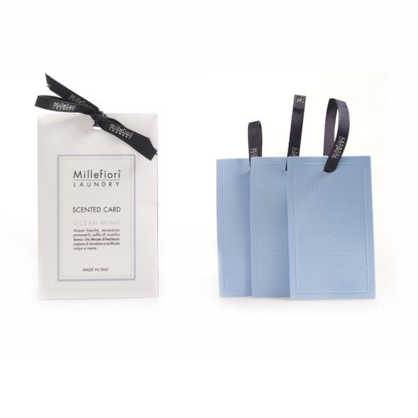 Millefiori Laundry «Ocean Wind» Duftkarte