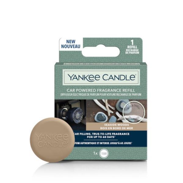 Yankee Candle Car Powered Fragrance Refill «Bois en bord de mer» Parfum pour voiture