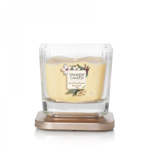 Yankee Candle Duftkerze Elevation  «Sweet Nectar Blossom» klein (small 96g)