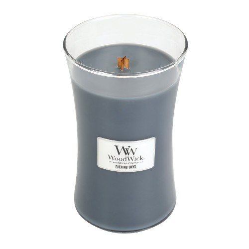 WoodWick Duftkerze «Evening Onyx» gross