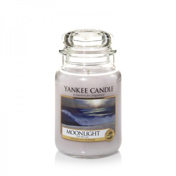 Yankee Candle Duftkerze «Moonlight» gross (large Jar 623g)