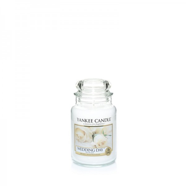 Yankee Candle Duftkerze «Wedding Day» klein (small Jar 104g)