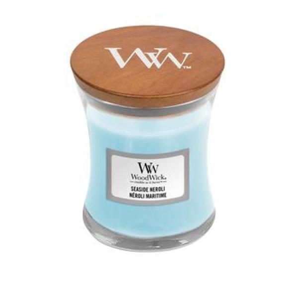 WoodWick «Néroli Maritim» Bougie Parfumée mini