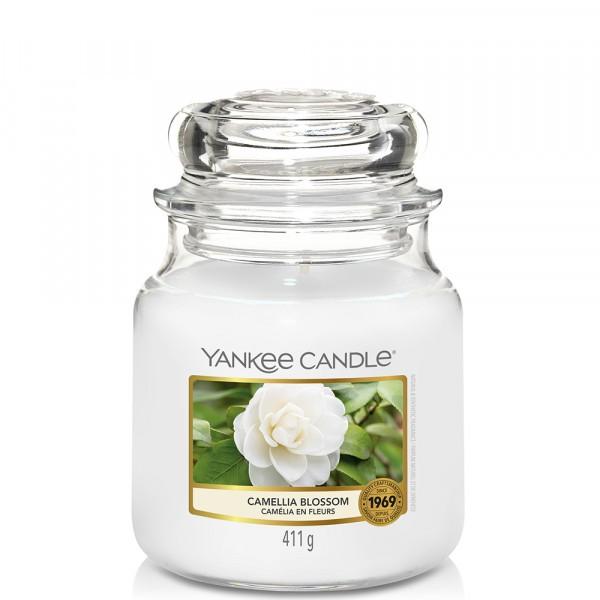 Yankee Candle «Camélia en fleurs» Bougie Parfumée moyenne