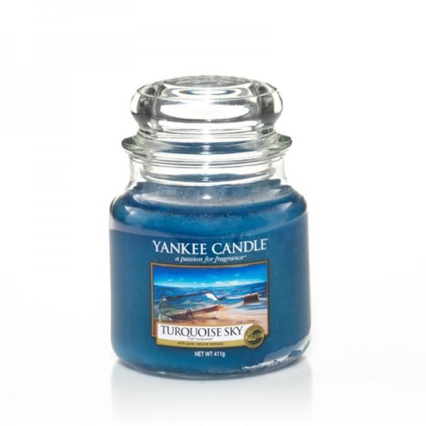 Yankee Candle Duftkerze «Turquoise Sky» gross (large Jar 623g)