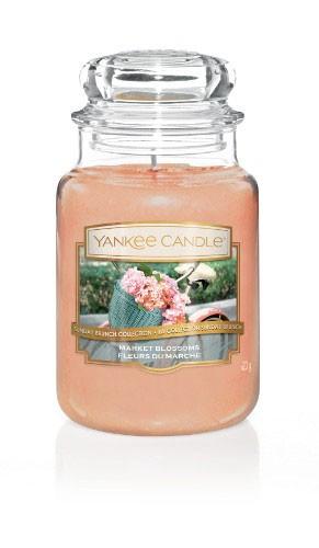 Yankee Candle Duftkerze «Market Blossom» gross (large Jar 623g)