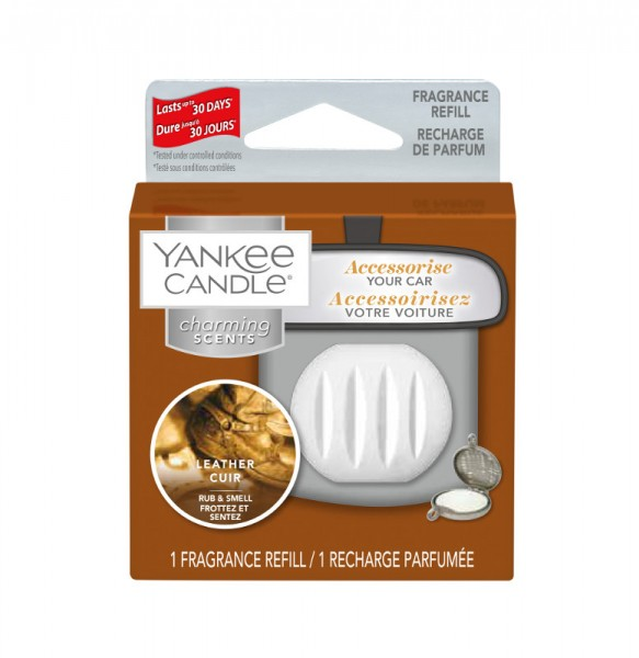 Yankee Candle Autoduft «Leather» Charming Scents, Refill