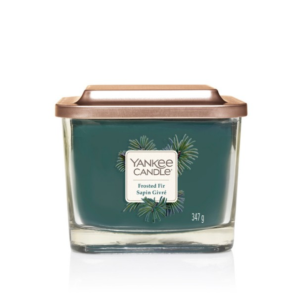 Yankee Candle Duftkerze Elevation «Frosted Fir» mittel (medium 347g)