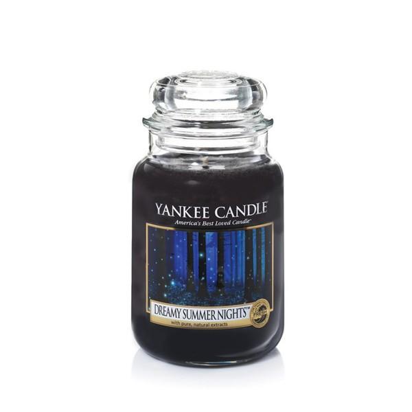 Yankee Candle Duftkerze «Dreamy Summer Nights» gross (large Jar 623g)