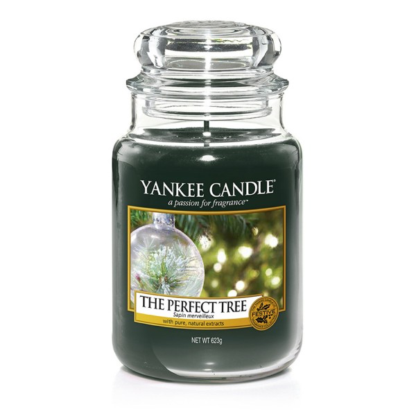 Yankee Candle Duftkerze «The Perfect Tree» gross (large Jar 623g)