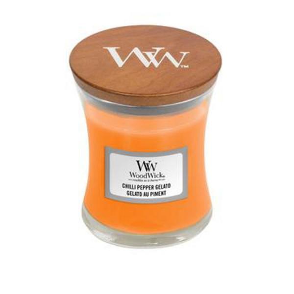 WoodWick «Chilli Pepper Gelato» Bougie Parfumée mini