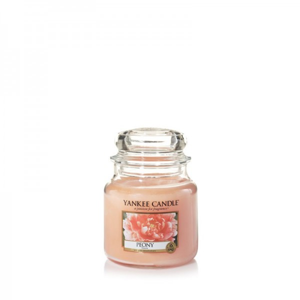 Yankee Candle Duftkerze «Peony» klein (small Jar 104g)