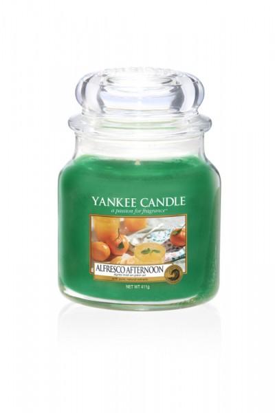 Yankee Candle Duftkerze «Alfresco Afternoon» mittel
