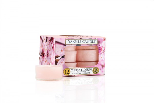 Yankee Candle Teelichter «Cherry Blossom» 12 Stück