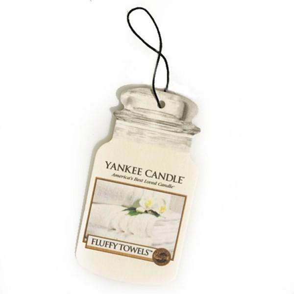 Yankee Candle Car Jar Karton «Serviettes moelleuses» Parfum pour voiture 14 g