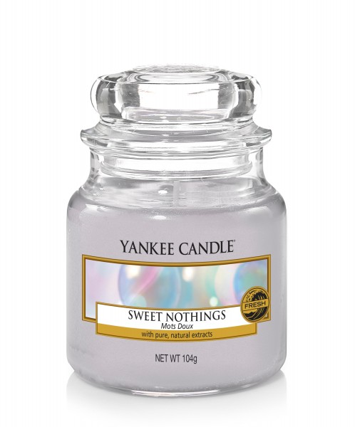 Yankee Candle Duftkerze «Sweet Nothings» klein (small Jar 104g)