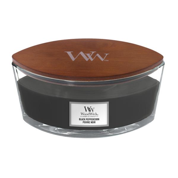 WoodWick Duftkerze «Black Peppercorn» Ellipse