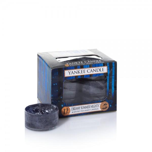 Yankee Candle Teelichter «Dreamy Summer Night» 12 Stück