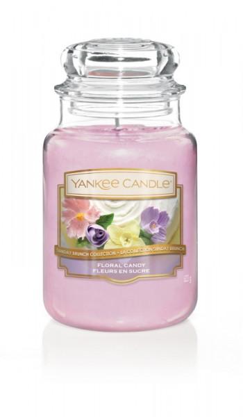 Yankee Candle Duftkerze «Floral Candy» gross (large Jar 623g)