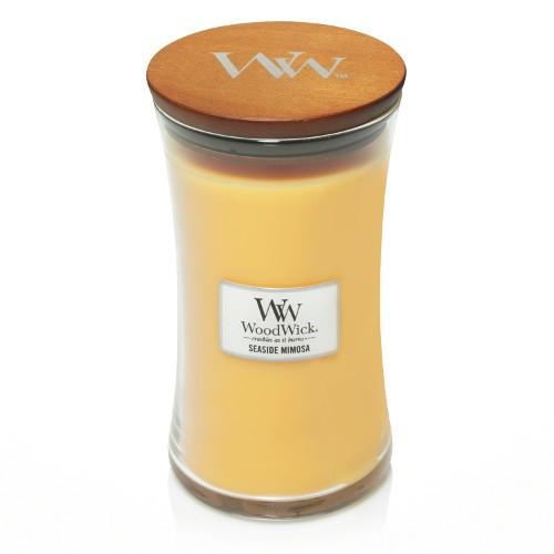 WoodWick Duftkerze «Seaside Mimosa» gross