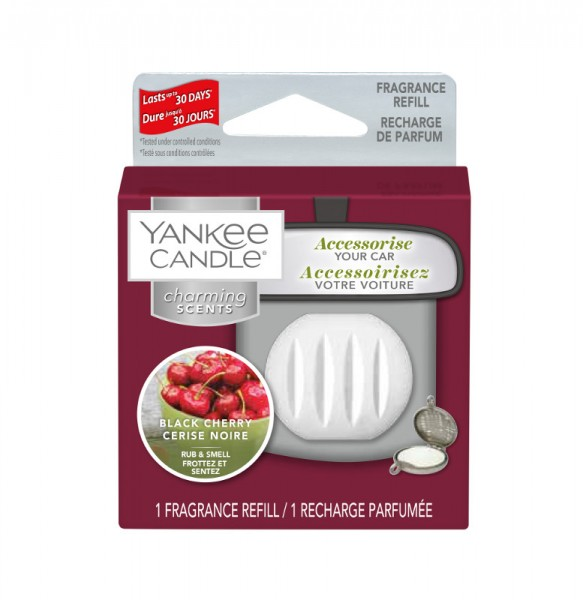 Yankee Candle Autoduft «Black Cherry» Charming Scents, Refill